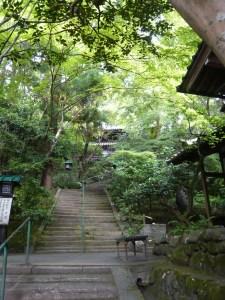 長楽寺 階段