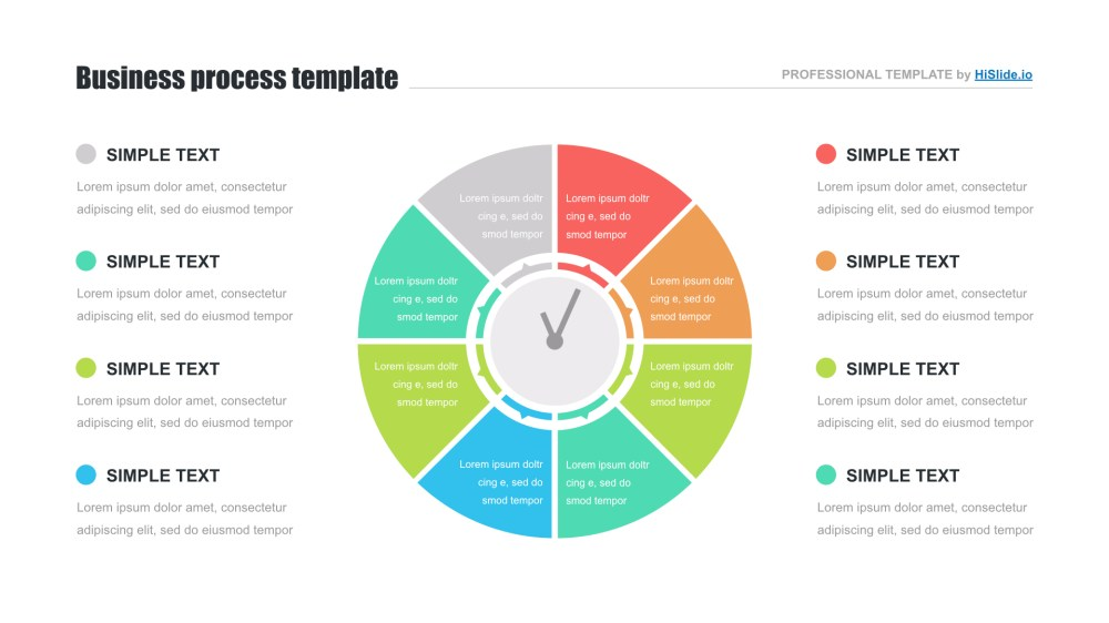 medium resolution of circle diagram free powerpoint template