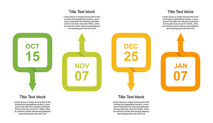 timeline free template for