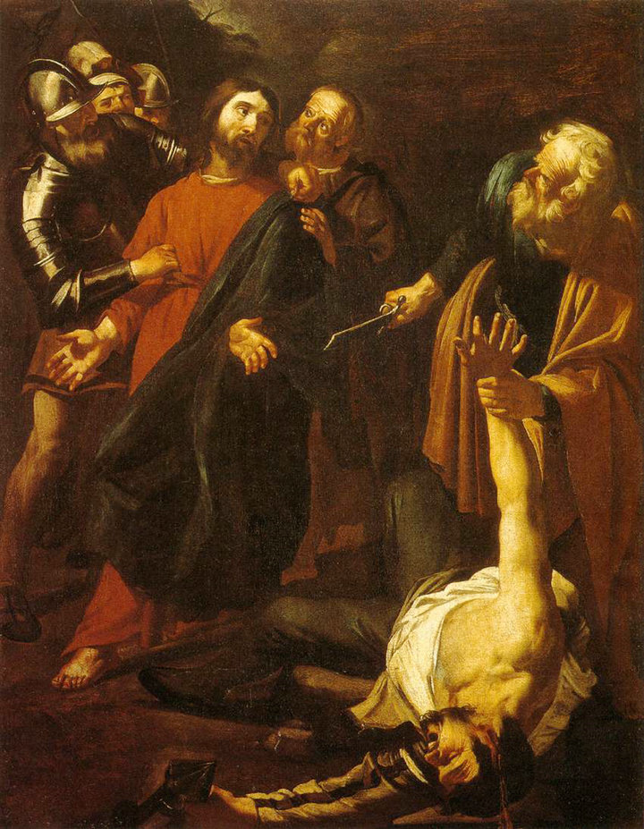 English the capture of christ with the malchus episode by dirck van english the capture of christ with the malchus episode by dirck van baburen voltagebd Images