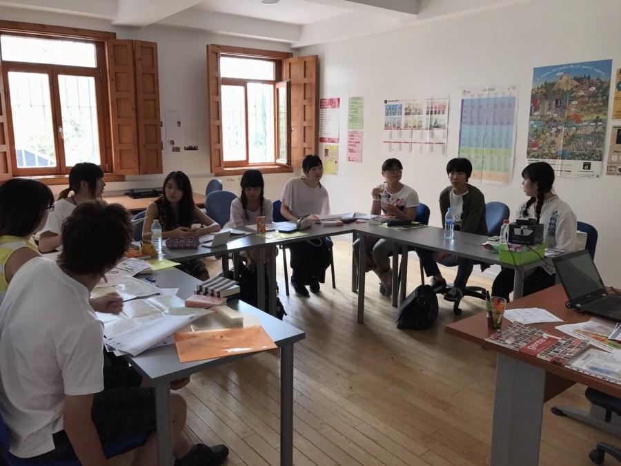 スペイン語クラス 授業風景