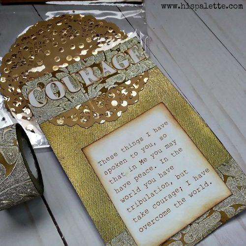 Courage bookmark