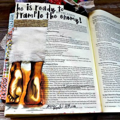 Want ideas for journaling your Bible studies? Find study prompts and Bible journaling ideas for Revelation 1:15 here.Plus. Jesus appearance. #hispalette #biblejournaling #illustratedfaith #biblestudy #jesusappearance #god #heaven #light #jesusfeet #craft #scriptures #lights #revelation #revelation1