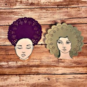 I love accidental art hacks! Check out this new one I discovered for afro, bouffant and curly hairstyles. #hispalette #biblejournaling #illustratedfaith #journaling #beauty #doilyhair #tips #tricks #creative #ideas #cool #crafts #everygirl #people