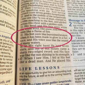 Want ideas for journaling your Bible studies? Find study prompts and Bible journaling ideas for Revelation 1:15 here. Plus, Jesus appearance. #hispalette #biblejournaling #illustratedfaith #biblestudy #jesusappearance #god #heaven #light #jesusfeet #craft #scriptures #lights #revelation #revelation1