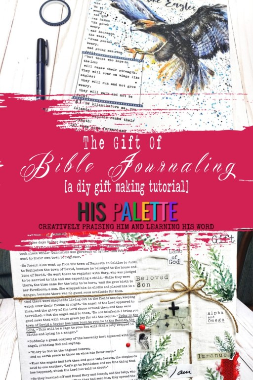 the gift of bible journaling: a diy gift making tutorial