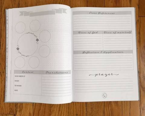 the James Method Verse Mapping Journal