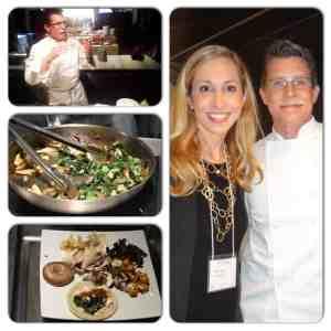 Chef Rick Bayless y Jeannette Kaplun en Nueva York