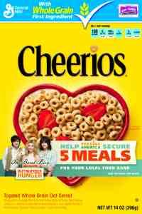 Cheerios participa en Outnumber Hunger