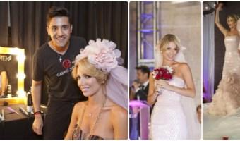Peinado de novia de Alessandra Villegas paso a paso