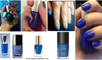 Los mejores tonos de azul en esmaltes de uñas