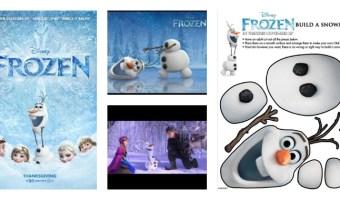 Actividades gratis de la película Frozen de Disney