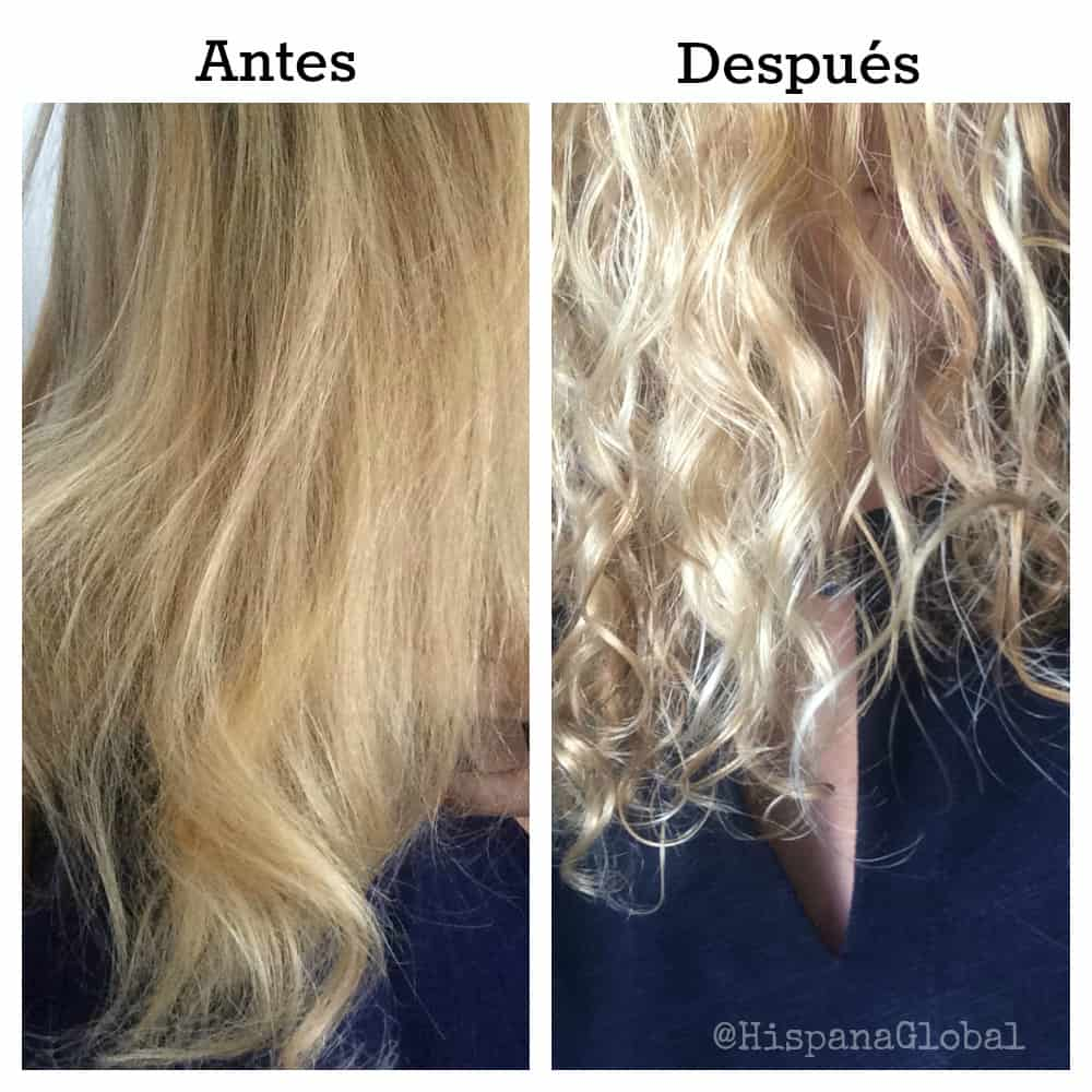 Antes y después de Triple Repair, pelo largo