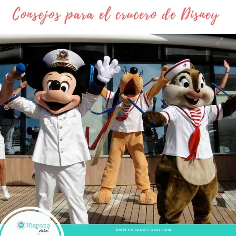 Consejos para disfrutar del crucero Disney