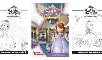 Imprime dibujos para colorear de Sofía La Primera