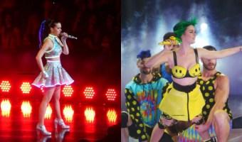 Katy Perry brilla en el escenario y fuera de él