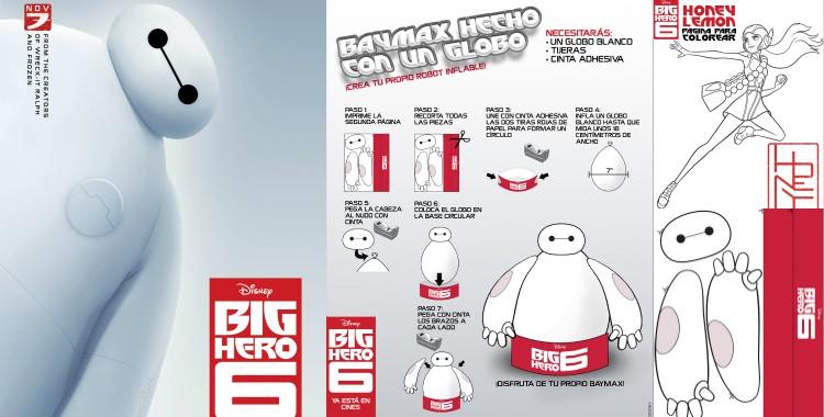 Actividades gratis para niños de Big Hero 6 o 6 Grandes Héroes ...