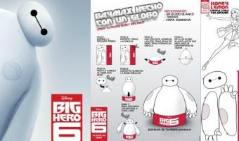 Actividades gratis para niños de Big Hero 6 o 6 Grandes Héroes