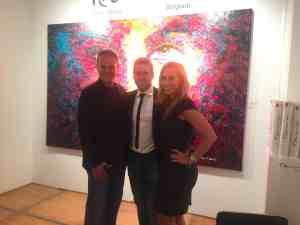 Con Peter Terrin en Spectrum Miami