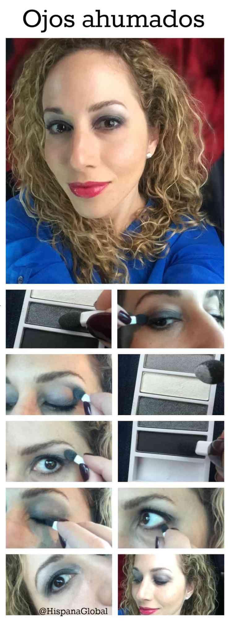 Cómo hacer maquillaje smoky eye paso a paso