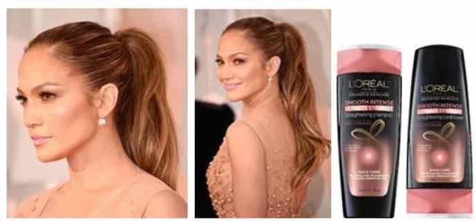 Peinado jennfier lopez oscars 2015