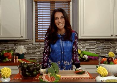 Maggie Jiménez aconseja comer más vegetales con el echale challenge