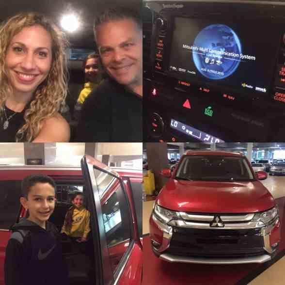Collage Mitsubishi Outlander