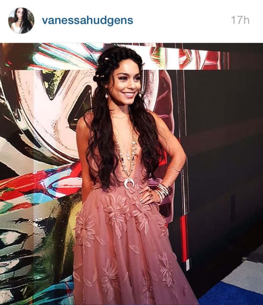 Vanessa Hudgens en los premios VMA de MTV