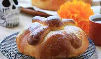 Receta deliciosa de pan de muerto