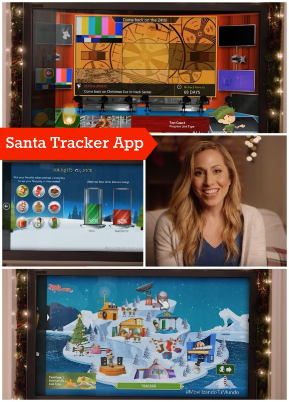 Santa Claus Tracker App de AT&T Latino