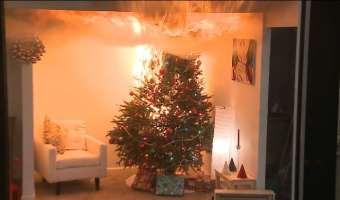 Cómo decorar tu hogar en Navidad de manera segura