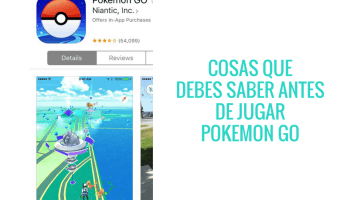 Lee esto antes de jugar Pokémon GO