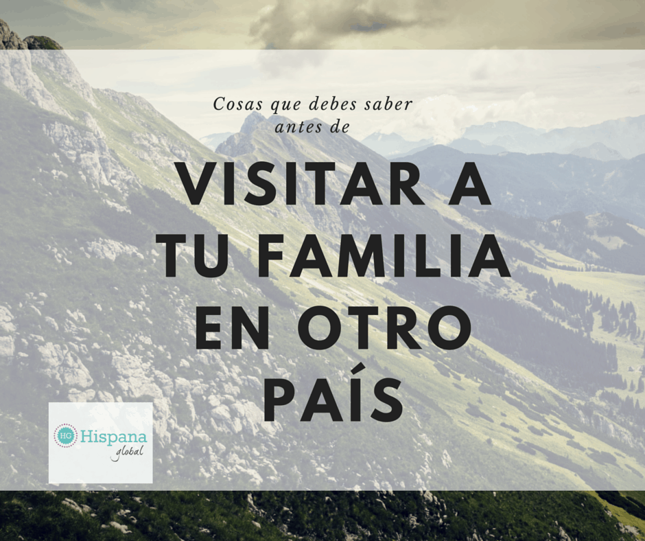 que saber antes de viajar a tu pais de origen con tus hijos