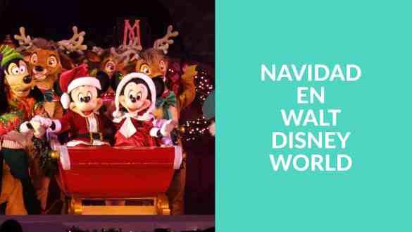 Novedades para celebrar la navidad en Walt Disney World Resort