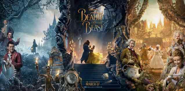 Bella y la bestia poster