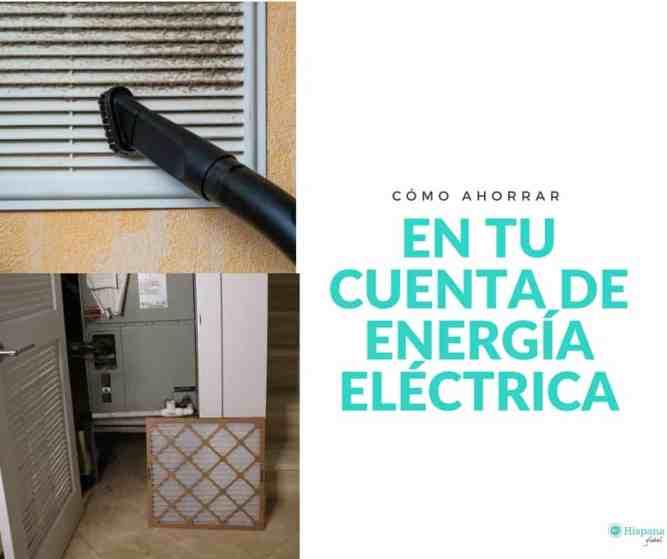 Como ahorrar en tu cuenta de electricidad
