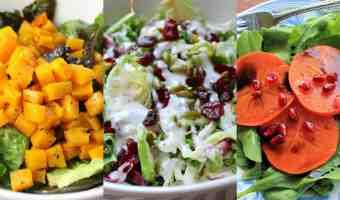 Ensaladas para las fiestas: 3 recetas para escoger
