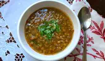 Sopa de lentejas: receta para la prosperidad
