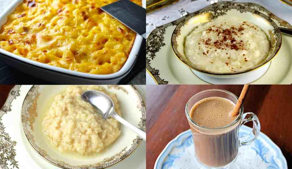 4 recetas a base de leche