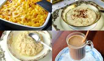 4 recetas con leche deliciosas y fáciles de preparar