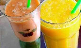 2 batidos tropicales que le fascinarán a tu hijo, aún si no come frutas