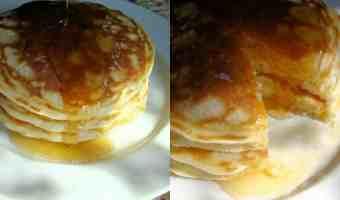 Receta de panquecas o pancakes: fácil y deliciosa
