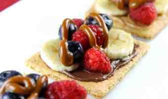 10 Meriendas deliciosas para toda la familia