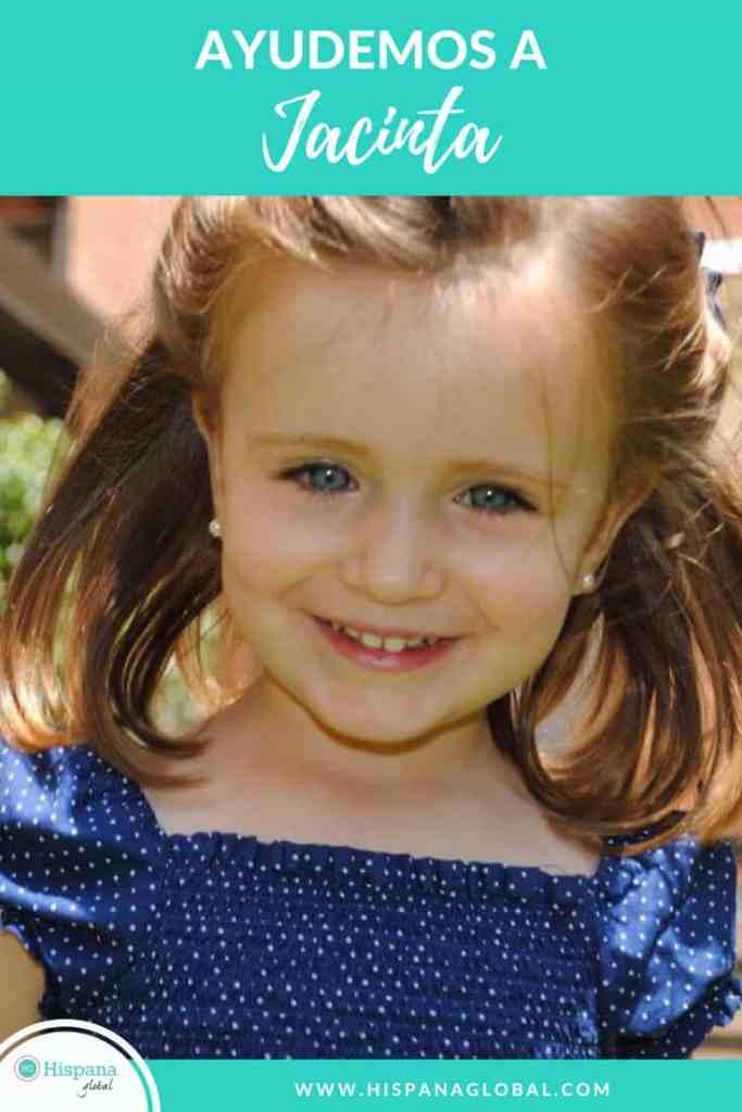 Te invitamos a ayudar a una niña de tan solo 4 años, quien necesita aprender a vivir sin poder ver. Jacinta Irarrázaval dentro de poco perderá la visión.