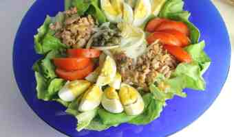 Receta fácil de Buddha Bowl de proteínas estilo Nicoise