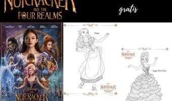 Dibujos para colorear gratis de El Cascanueces y los Cuatro Reinos de Disney