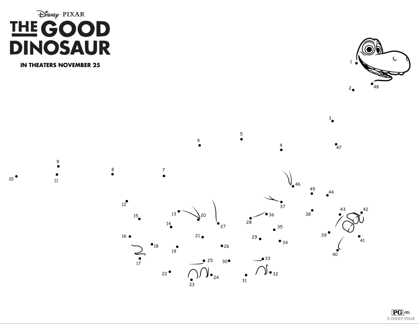 Your Kids Will Love These Fun And Free The Good Dinosaur