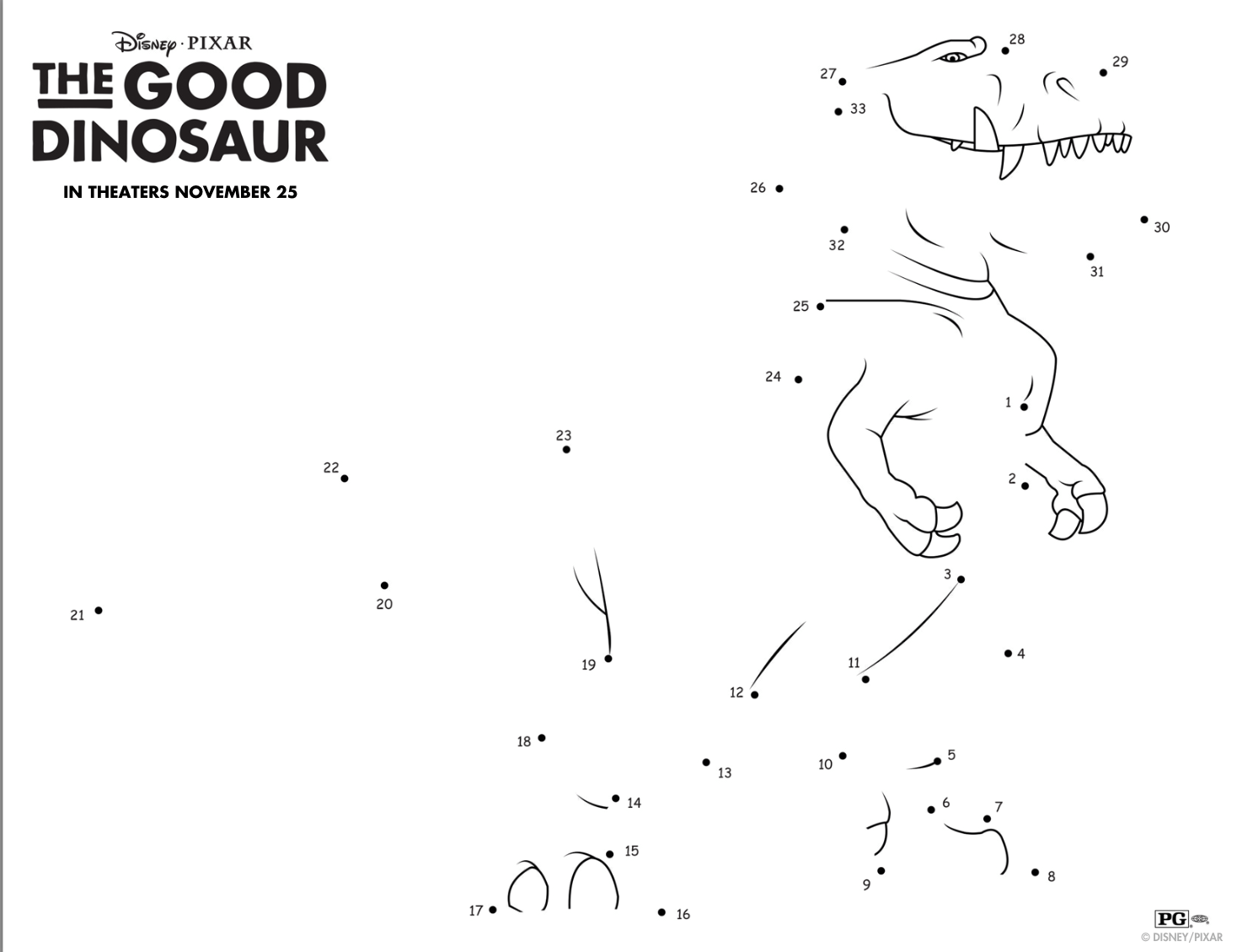 Your Kids Will Love These Fun And Free The Good Dinosaur Activities