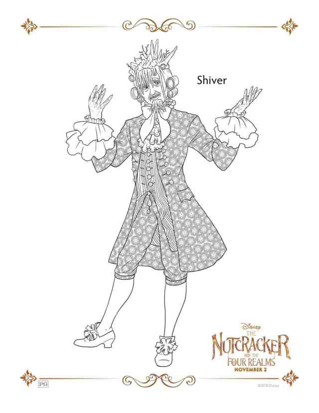 The Nutcracker And The Four Realms Free Coloring Sheets - Hispana