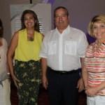 María Rosario Piñeros, Margarita De los Ríos, Rafael Maldonado Daza y Evelia Margarita González Porto.
